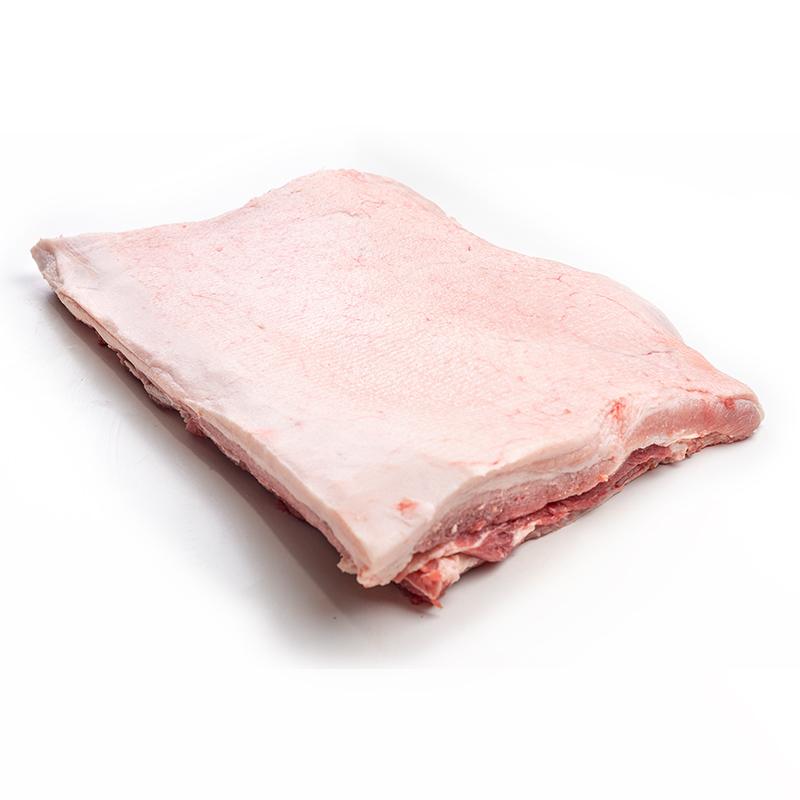 Granjero Feliz lideres en la comercializacion de carne de puerco cerdo single ribe belly skinless